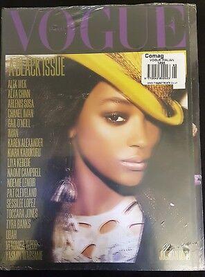 VOGUE ITALIA Magazine ,July 2008 The Black Issue,Jourdan Dunn Cover, FIRST PRINT