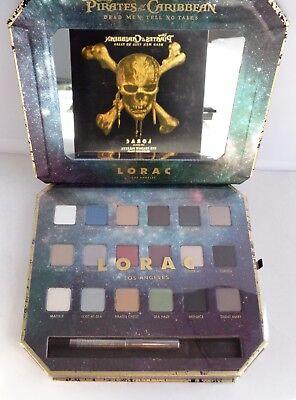 Pirate Eye Makeup (LORAC DISNEY EYESHADOW PALETTE PIRATES OF CARIBBEAN LTD ED)