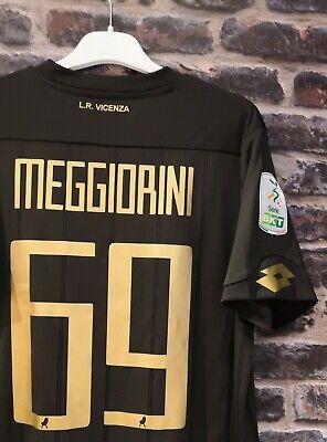 VICENZA MAGLIA AWAY MEGGIORINI 69 SHIRT LOTTO TAGLIA L 20/21