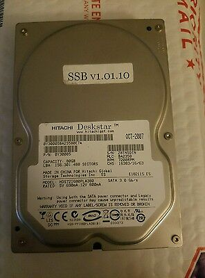 Incredible Technologies Original Silver Strike bowling Hard Drive. HDD 1.0.10