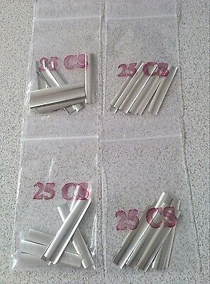 100 Pieces Locksmith Shim Stock. Curved Lock Shims Made In Usa Free Shipping.