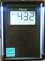 iHome iP40 iPhone-iPod Dock w/Alarm/Clock Radio. New Backup Batteries Included.