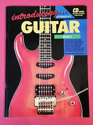 Introducing Guitar Book - Andrew Scott - Introducing Guitar Book 2 - Intermediate - pb - includes CD