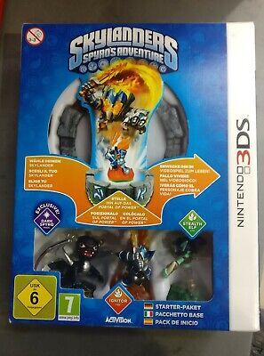 Skylanders Spyro's Adventure Starter Pack +3 figuras Nintendo 3DS segunda mano  Madrid