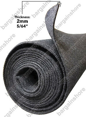 Felt roll Liner Polymat carpet 16ft x 3.75' Charcoal for Tradeshow Divider - Carpet Dividers