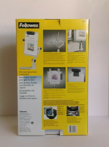 Fellowes Flex Arm Space Saver Copyholder 21127 New In Box - $18.00