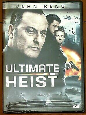 Ultimate Heist 2009 DVD Jean Reno NEW SEALED