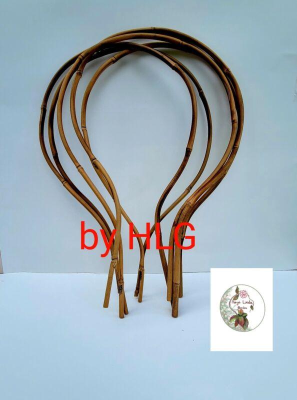 NEW 5 MEDIUM~LOOP Bamboo Trellis/18X11 Eco-Friendly/Hoya, Dischidia/houseplants