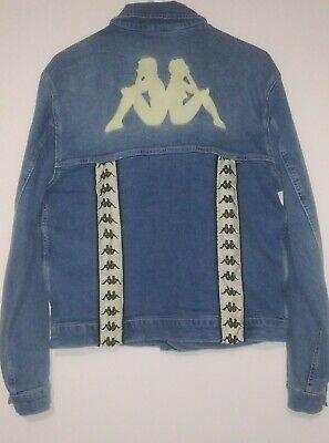 Kappa Original 222 Band Boetino Jeans Jacket Unisex Medium.
