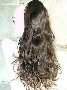 Long-Brown-Pony-Tail-Clip-In-Hair-Extension-Piece