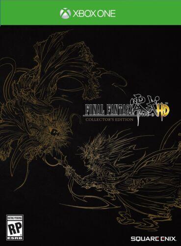 Final Fantasy Type-0 HD Collectors Edition CE Zero XBONE