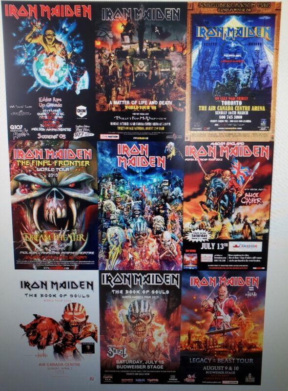Iron Maiden Tour Poster