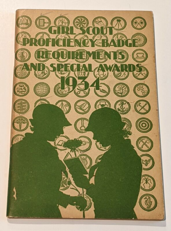 Girl Scout Proficiency Badge Requirements and Special Awards 1934