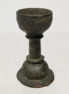 Antique Early Greco Roman Greek Roman Artifact Oil Lamp Bronze Antiquity