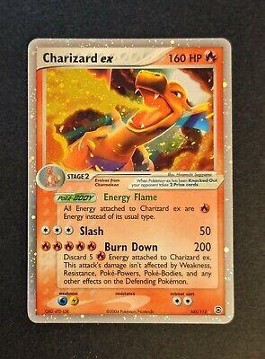 Charizard EX - 2004 Pokemon EX Fire Red Leaf Green Holo TCG #105 MINT - GEM