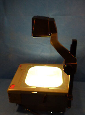 3m Series 9150 Overhead Projector W Two New Enx 360 Watt Bulbs