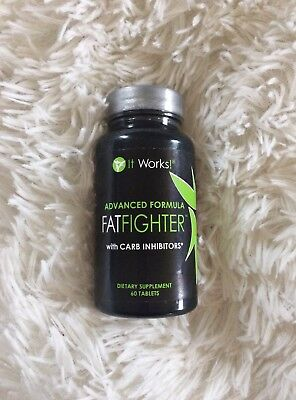 New Fat Fighters It Works Carb Inhibitors Weight Loss Supplement..