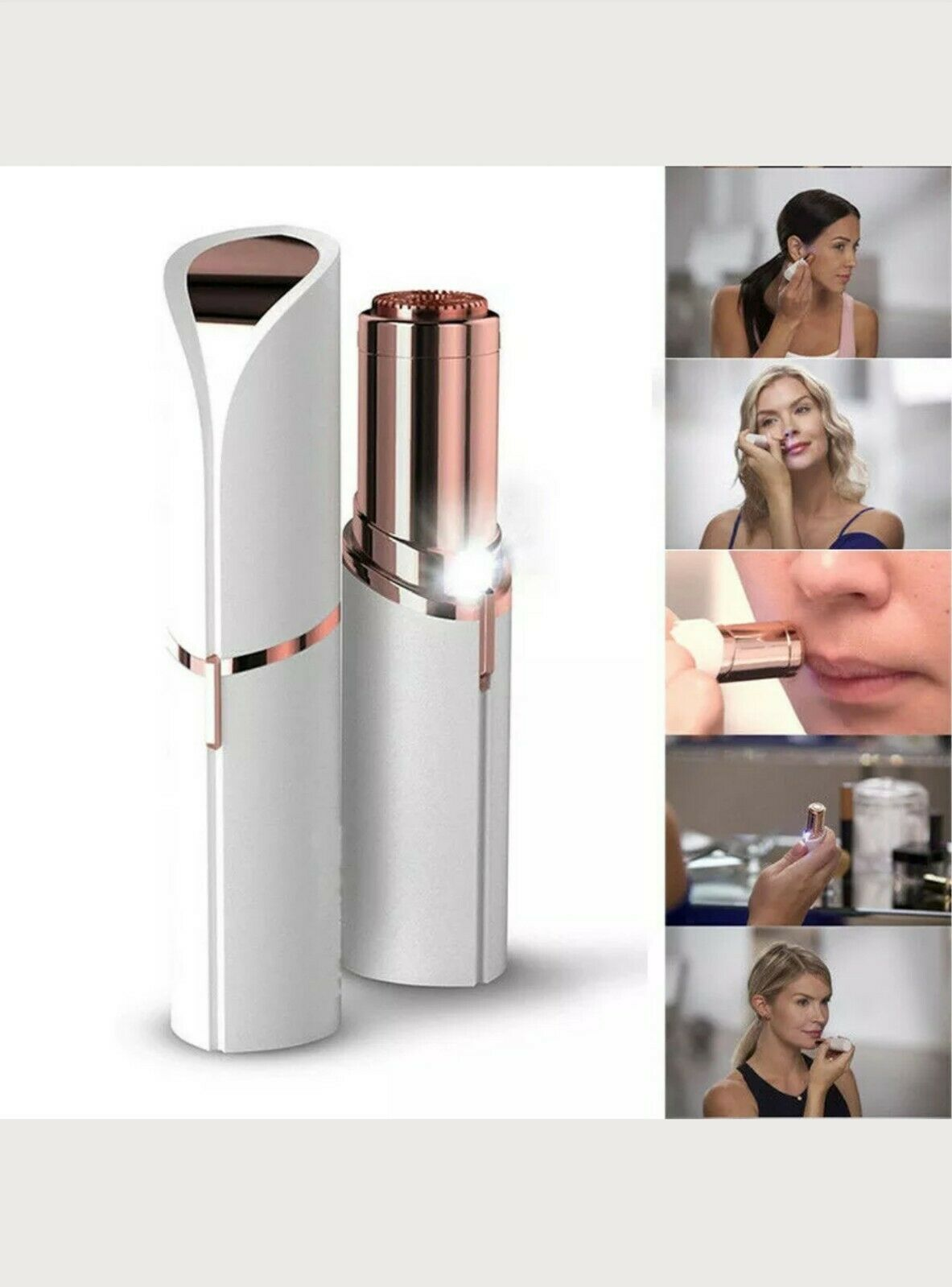 women's face hair remover electric facial hair removal lady