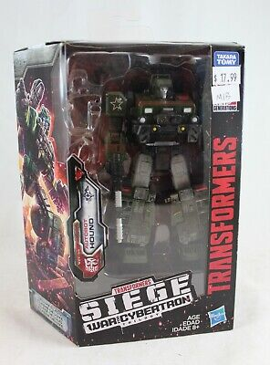 Transformers Siege War For Cybertron Deluxe Class Hound Complete in Box