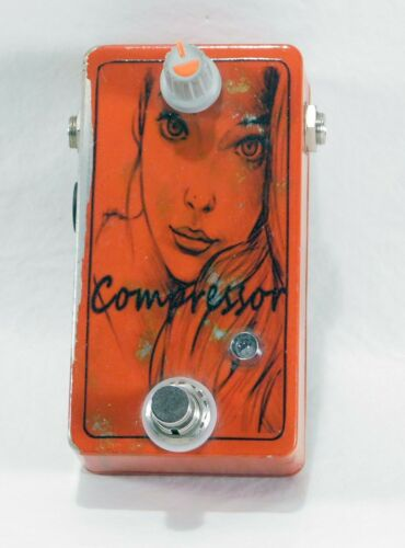 Relic Orange Squeeze Her (Squeezer) Compressor Effects Pedal