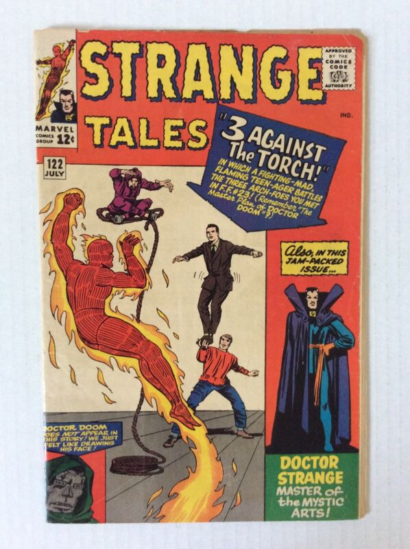 Strange Tales 122
