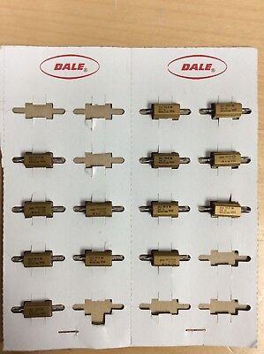 New Dale Brass Power Resistor Re60g10ro Rh-5 5 W 10 Ohms 1