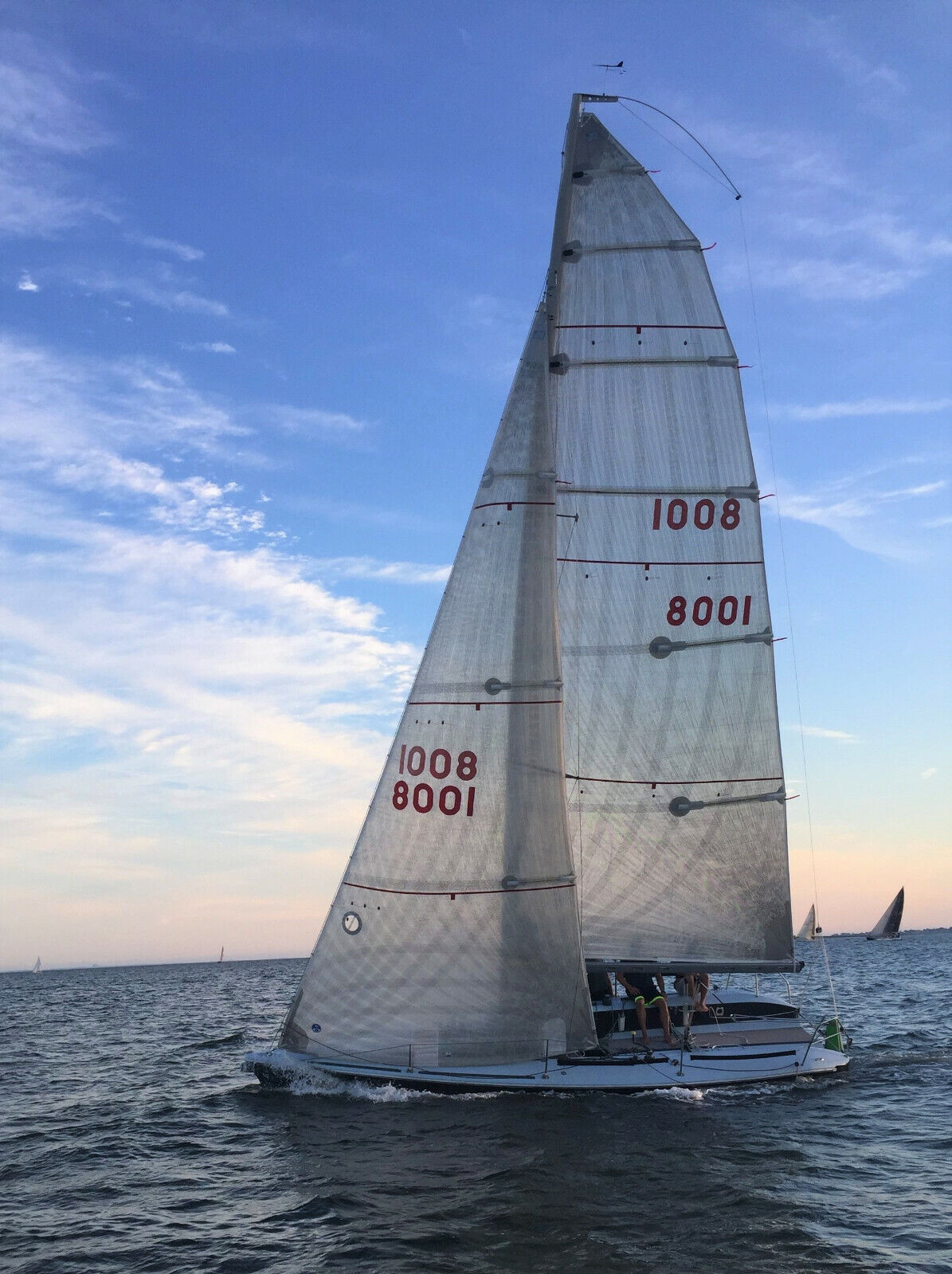 1998 Carrera 280 race sailboat, sport boat with trailer