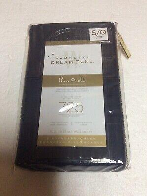 Wamsutta Dream Zone 2pc Navy Queen Pillowcases 725 Thread Count Brand New