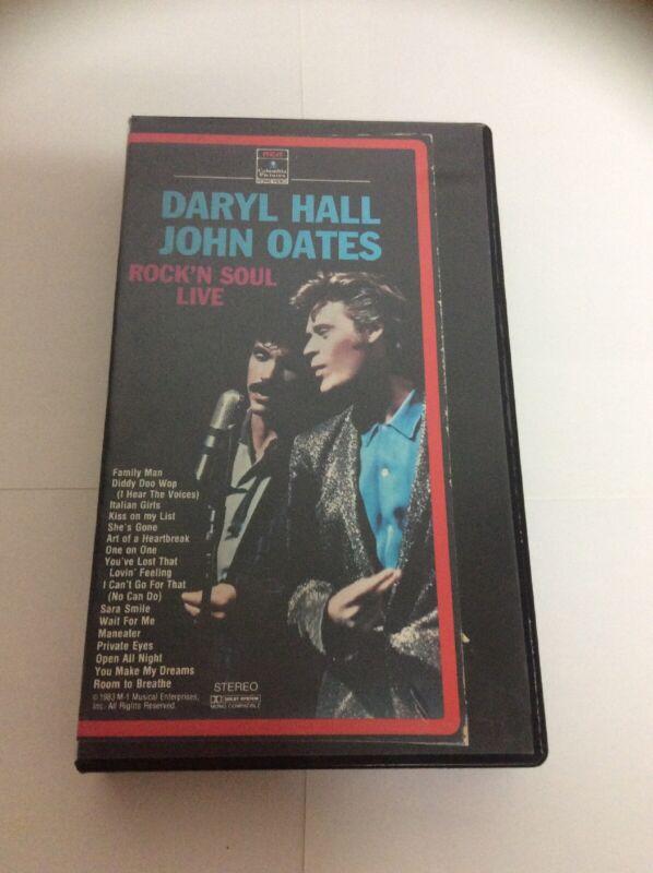 Daryl Hall John Oates Rock'n Soul Live VHS