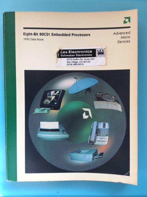 AMD 80C51 Embedded Processors Data Book