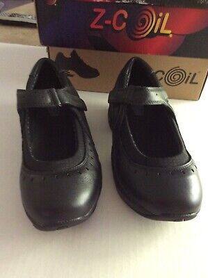 Biotrek Womens Shoes By Z-Coil.  Size 8.  Haylee 2. Black. New In Box.
