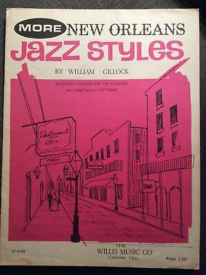 New Orleans Jazz Style By William Gillock Sheet (New Orleans Jazz Sheet Music)