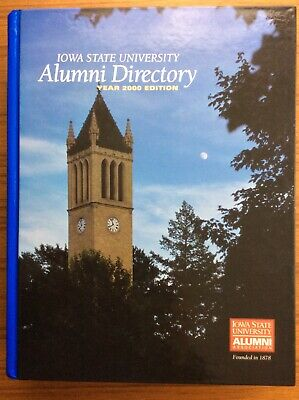 Iowa University Alumni (Iowa State University ALUMNI DIRECTORY Alumni Association 2000 EDITION Book)