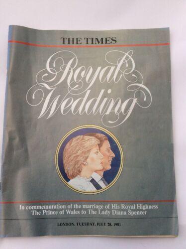 Magazine - The Times Magazine - Tuesday 28 July 1981 - Royal Wedding