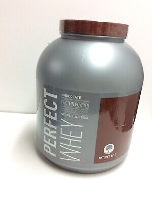 Natures Best Perfect Whey Protein Powder Chocolate, 5-Pound  Exp