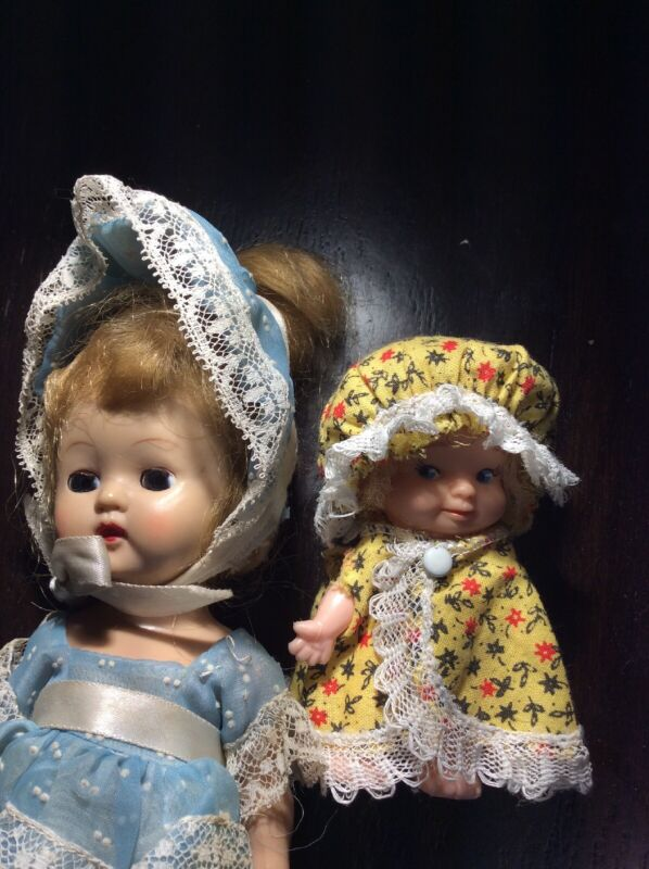 Lot of small Vintage dressed Dolls 1 Of Pee Wee