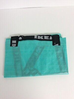 IKEA Slukis Frakta Teal Tote Bag