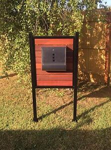 Letter box stand stainless steel letterbox Hoppers Crossing Wyndham Area Preview