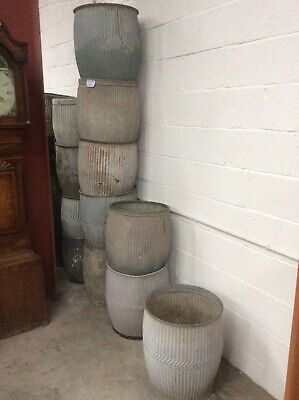 Dolly Tub Antique Planter Over 20 In Stock