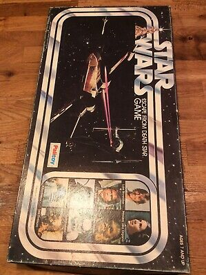 Vintage 1977 Palitoy Star Wars Escape From Death Star Board Game