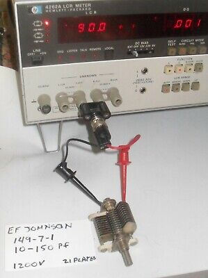 Ef Johnson Air Variable Capacitors - Condensers - Model 149