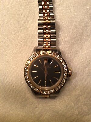Rolex Steel And 18KT Gold Wrist Watch for Women