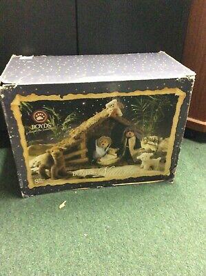 2005 Boyd's Bear Collection Plush Nativity Set holy family New sealed animals