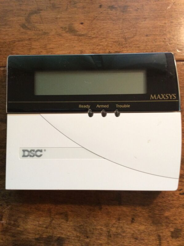 DSC Maxsys LCD-4500Z Security Keypad
