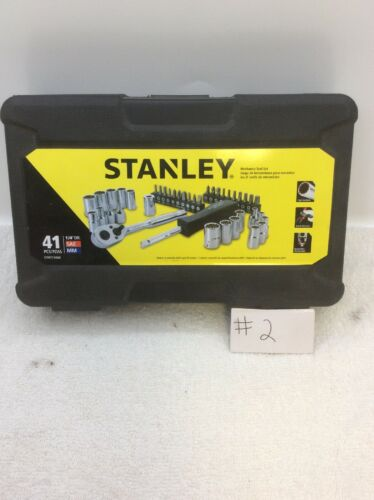 "Stanley STMT74860 1/4"" Drive Mechanics Tool Set, 41 Piece"