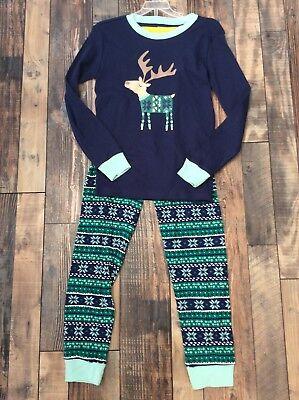 Boys Nwt GYMBOREE Fair Isle Reindeer Christmas Holiday Pjs Size 5 (Boys Holiday Pjs)