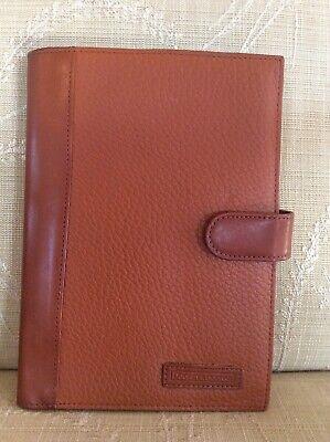Excellent DOONEY & BOURKE Leather Portfolio Case Agenda/Notebook/Business Card Leather Ladies Notebook Case