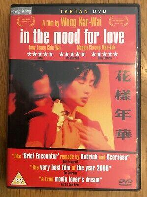 In The Mood For Love DVD Tony Leung Chiu-Wai Maggie Cheung Man-Yuk Wong Kar-Wai