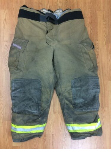 Globe Gxtreme Firefighter Bunker Turnout Pants 46 x 30