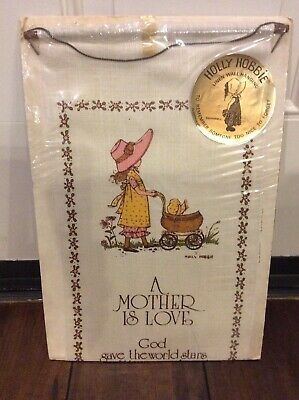 Holly Hobbie Linen Wall Hanging